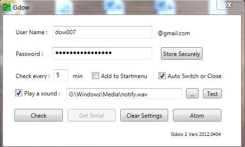 Full Gdow 2007 screenshot